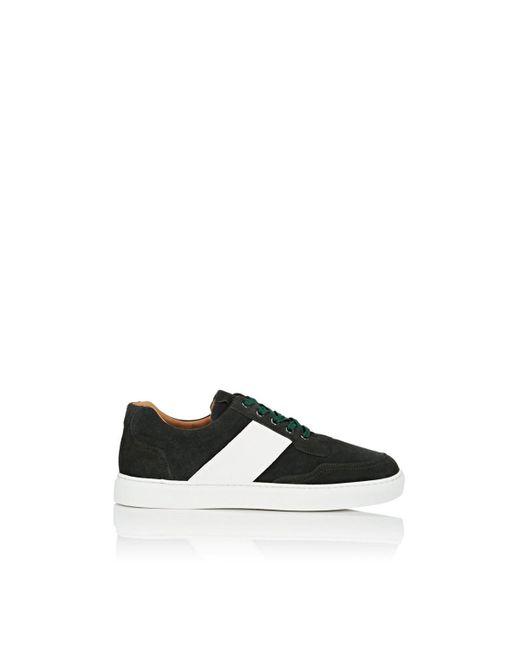 Harry's Of London - Green Mr Jones Bolt Suede Sneakers for Men - Lyst