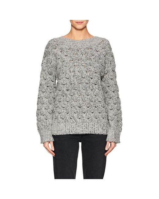 J Brand | White Camelia Knit Sweater | Lyst