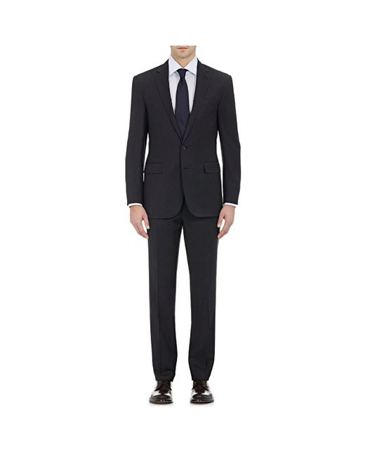 Ralph Lauren Purple Label Gray Anthony Wool Two-button Suit for men