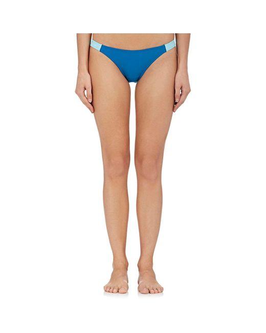 Chromat - Blue Banded Bikini Bottom - Lyst