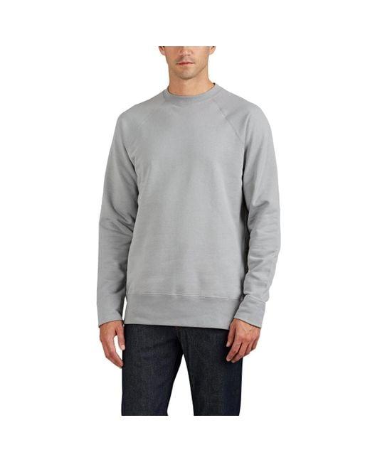 Zadig & Voltaire - Gray Sam Cotton Terry Sweatshirt for Men - Lyst