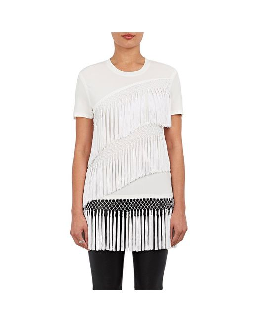 Opening Ceremony   White Lora Fringed Tech   Lyst