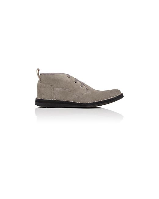 John Varvatos | Gray Star B Suede Chukka Boots for Men | Lyst
