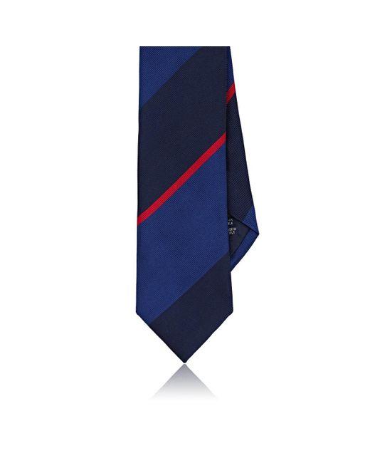 Cravate En Soie Hommes Pointillé Faille Paul Albizzati NJ1632PLN