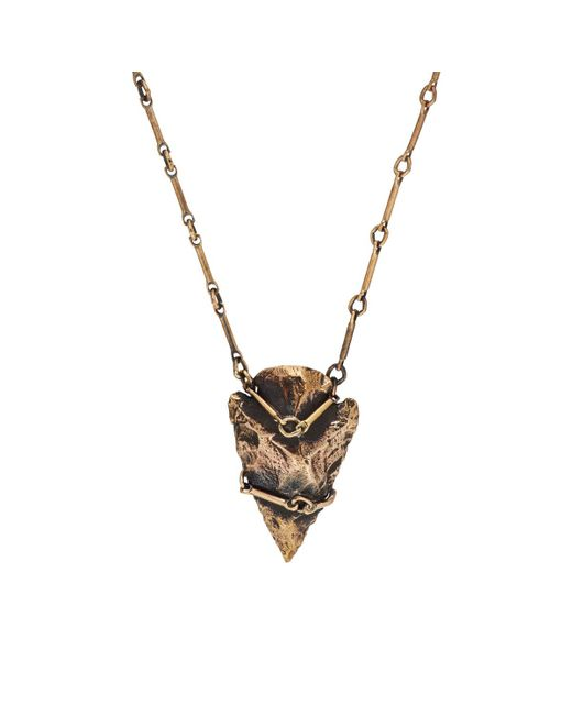Pamela Love | Metallic Arrowhead Pendant Necklace | Lyst