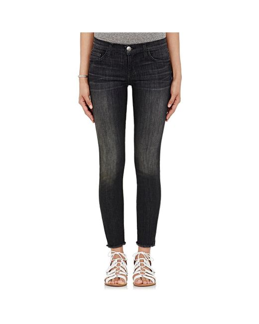 Current/Elliott | Black The Stiletto Skinny Jeans | Lyst