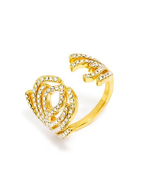 BaubleBar - Yellow Aquarius Ring - Lyst