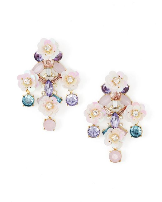 BaubleBar | Multicolor Florette Drops | Lyst