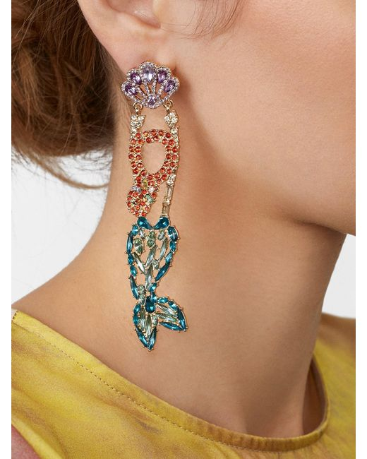 BaubleBar - Multicolor Ari Drop Earrings - Lyst