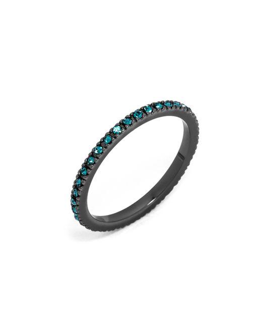 BaubleBar | Blue Pavã© Eternity Ring | Lyst