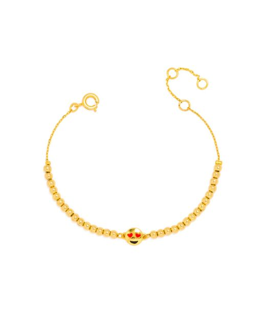 BaubleBar | Metallic Lovestruck Emoticharm Bracelet | Lyst