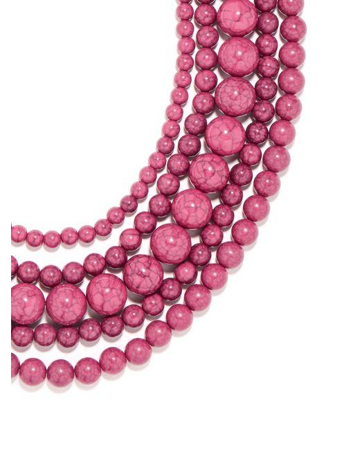 BaubleBar   Pink Globe Strands   Lyst