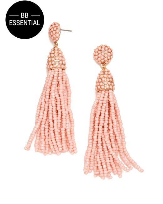 BaubleBar | Pink Piã±ata Tassel Drops | Lyst