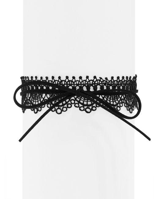 BaubleBar | Black Florence Wrap Choker | Lyst