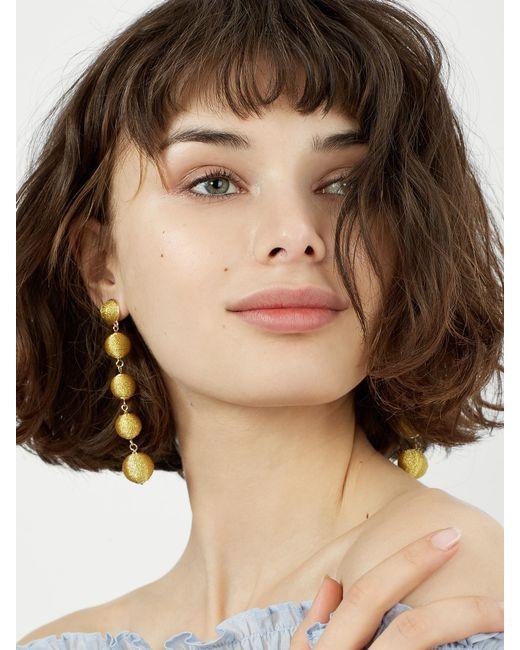 BaubleBar   Metallic Eva Ball Drop Earrings   Lyst