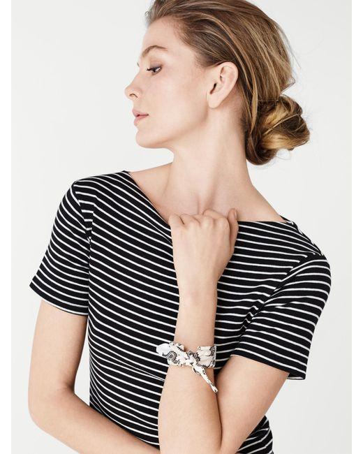 BaubleBar | White Kenzie Bandana Bracelet | Lyst