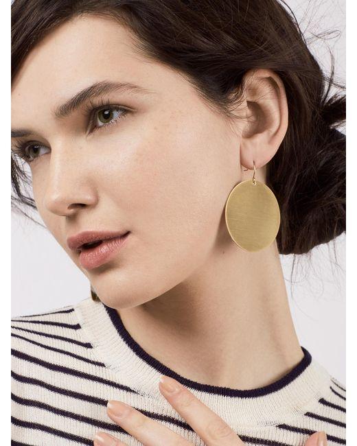 BaubleBar | Metallic Disc Drop Earrings | Lyst
