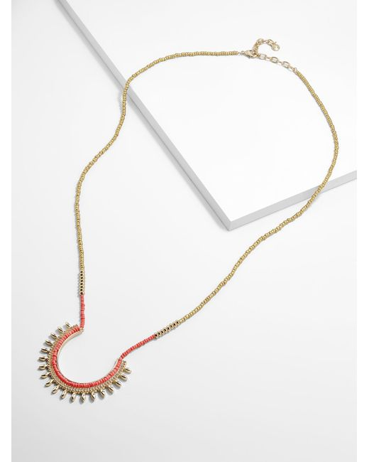 BaubleBar - Multicolor Tannar Pendant Necklace - Lyst