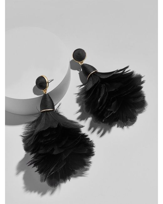BaubleBar | Multicolor Parisian Feather Earrings | Lyst