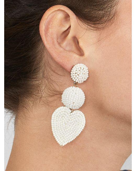 BaubleBar - Multicolor Vitina Heart Drop Earring - Lyst