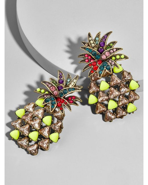 BaubleBar - Multicolor Pineapple Pop Drop Earrings - Lyst