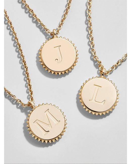 BaubleBar - Metallic Lexis Pendant Necklace - Lyst