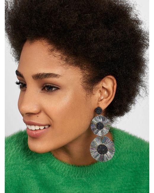 BaubleBar - Metallic Large Mariette Fringe Drop Earrings - Lyst