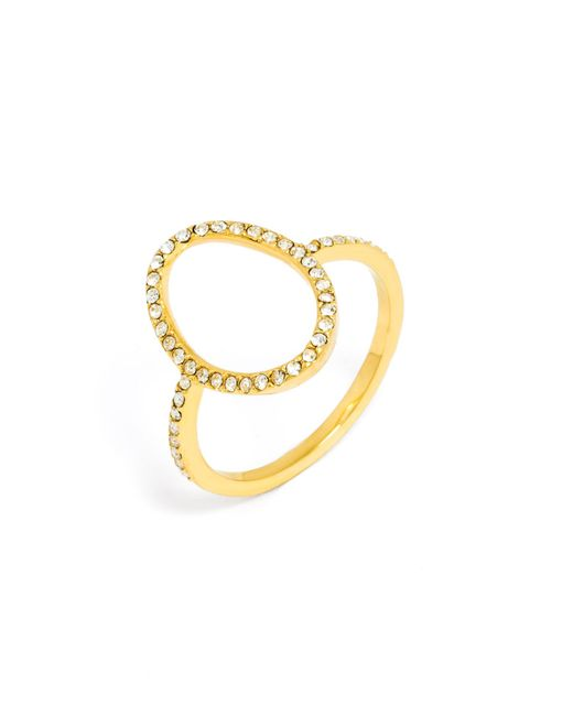 BaubleBar - Metallic Egg Ring - Lyst