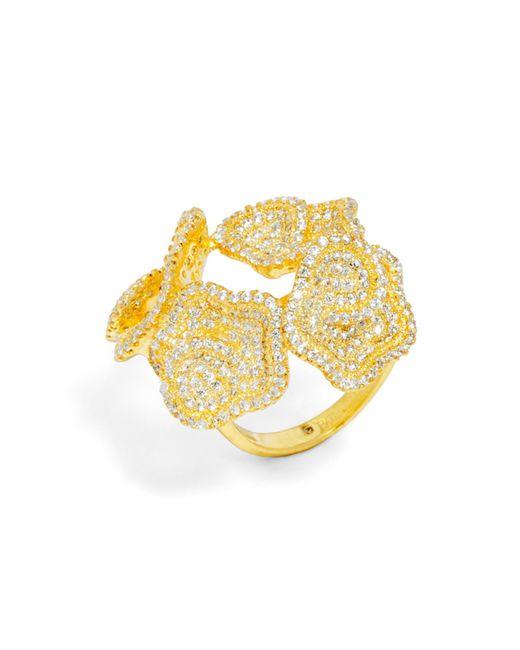 BaubleBar | Metallic Lotus Ring | Lyst