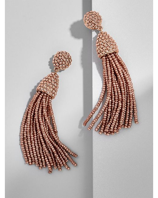 BaubleBar | Metallic Piñata Tassel Earrings | Lyst