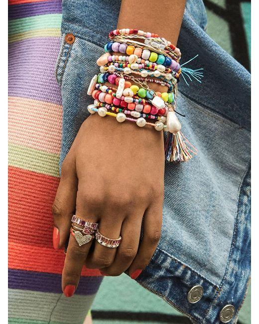 BaubleBar - Blue Bali Bracelet - Lyst
