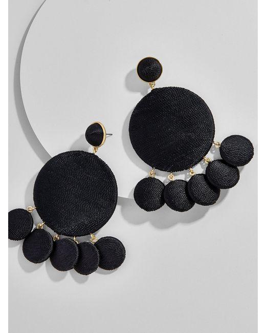 BaubleBar | Black Sundial Drop Earrings | Lyst