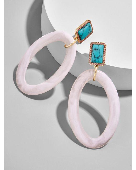 BaubleBar - Multicolor Tristine Hoop Earrings - Lyst
