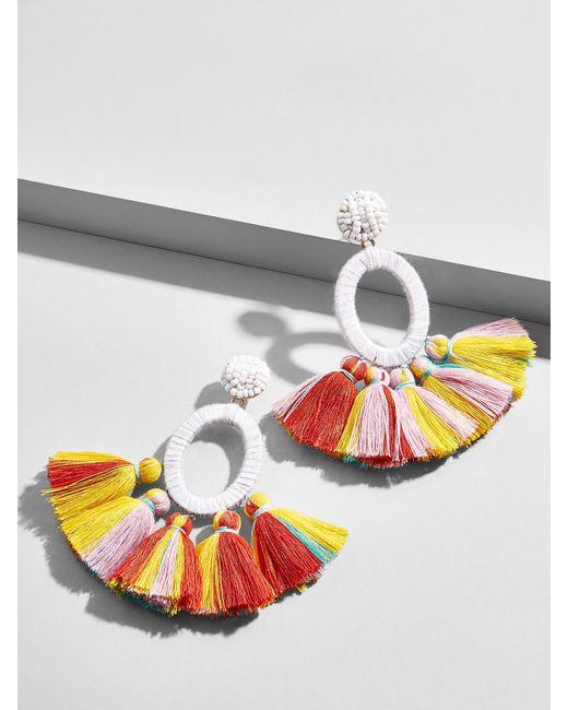BaubleBar - Multicolor Abacos Tassel Earrings - Lyst