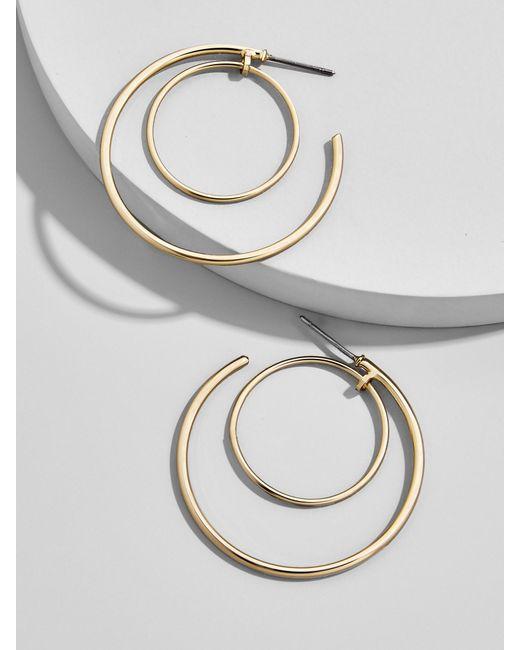BaubleBar | Multicolor Samantha Hoop Earrings | Lyst