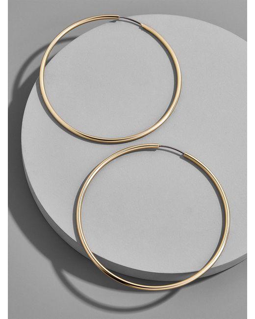 BaubleBar - Metallic Joelle Hoop Earrings - Lyst
