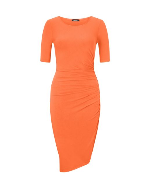 Baukjen - Orange Cardwell Dress - Lyst