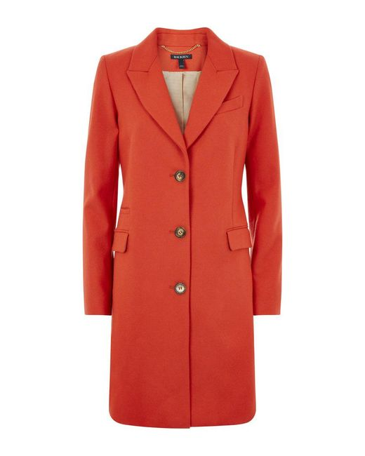 Baukjen - Red Henshaw City Coat - Lyst
