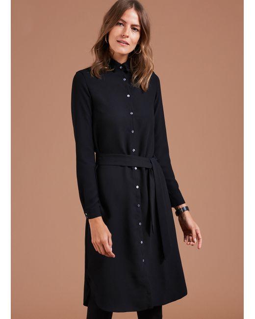 Baukjen | Black Maeve Shirt Dress | Lyst
