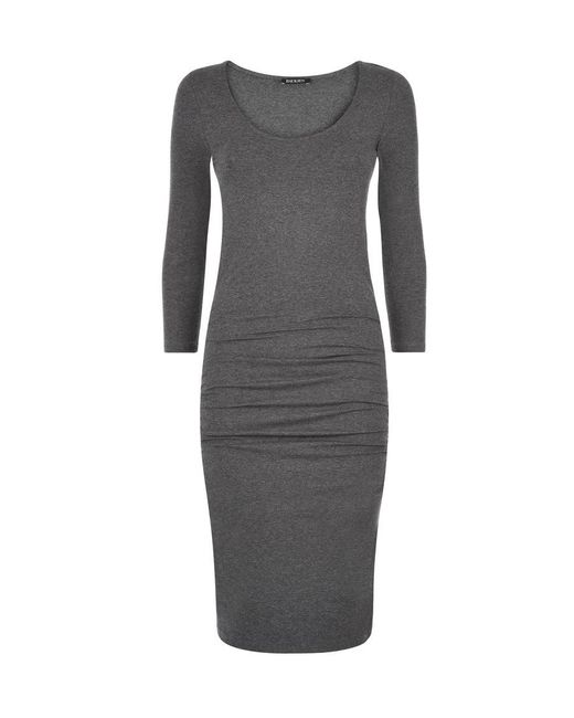Baukjen - Gray Heath Ruched Dress - Lyst