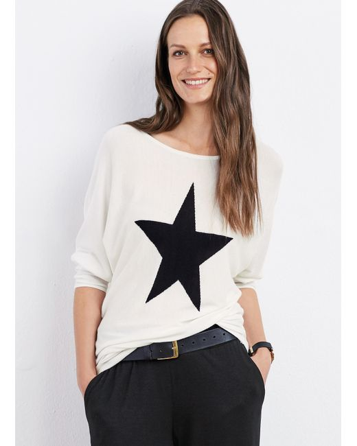 Baukjen   White Ruby Star Knit   Lyst
