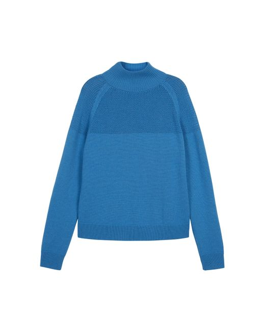 Baukjen - Blue Livia Roll Neck Sweater - Lyst