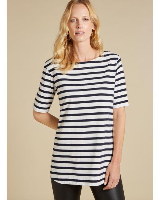 Baukjen - Blue Callie Striped Tunic - Lyst