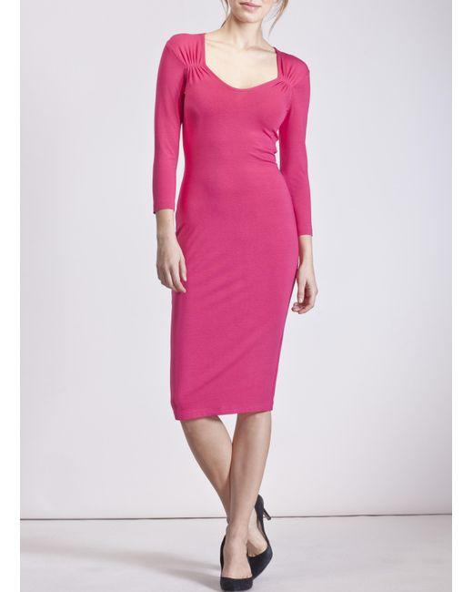 Baukjen - Pink Gianna Dress - Lyst