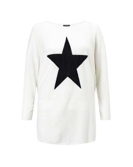 Baukjen - White Ruby Star Knit - Lyst