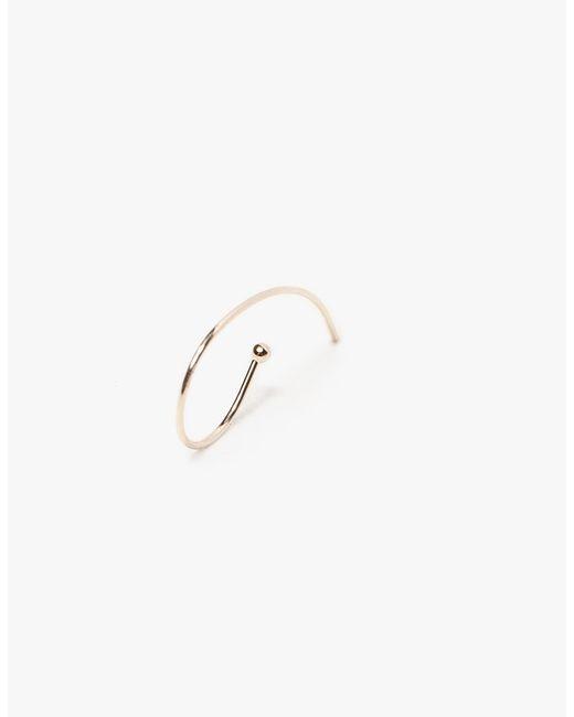 Kathleen Whitaker | Metallic Loop Earring | Lyst
