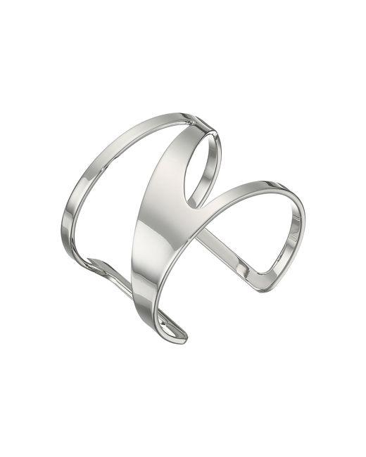 Vince Camuto | Metallic Metal Cutout Cuff Bracelet | Lyst