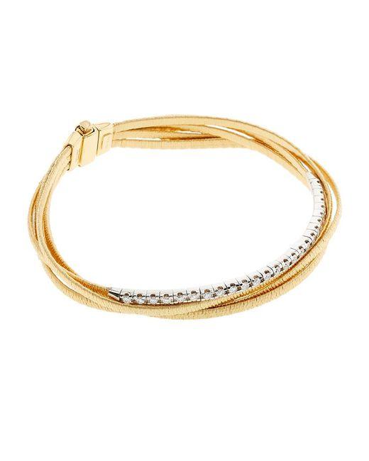 Marco Bicego | Metallic Il Cairo Five Strand Diamond Bracelet | Lyst