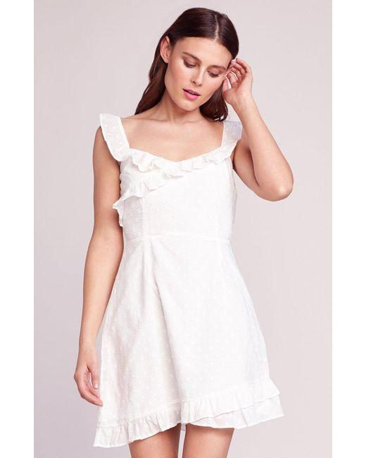 f407967f0204b BB Dakota - White Say No More Dot Dress - Lyst ...
