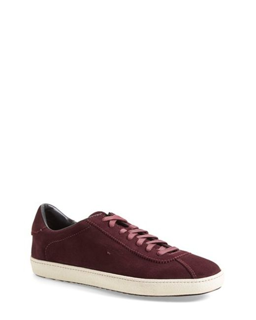 Santoni | Purple 'escolar' Sneaker for Men | Lyst